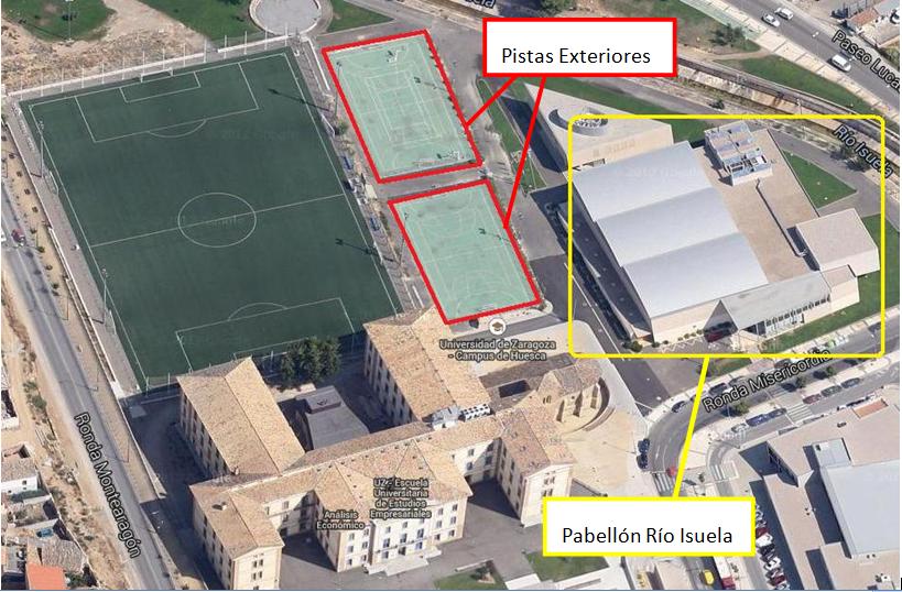 Comienzan Las Competiciones Deportivas Del Trofeo Rector En El Campus De Huesca Noticias