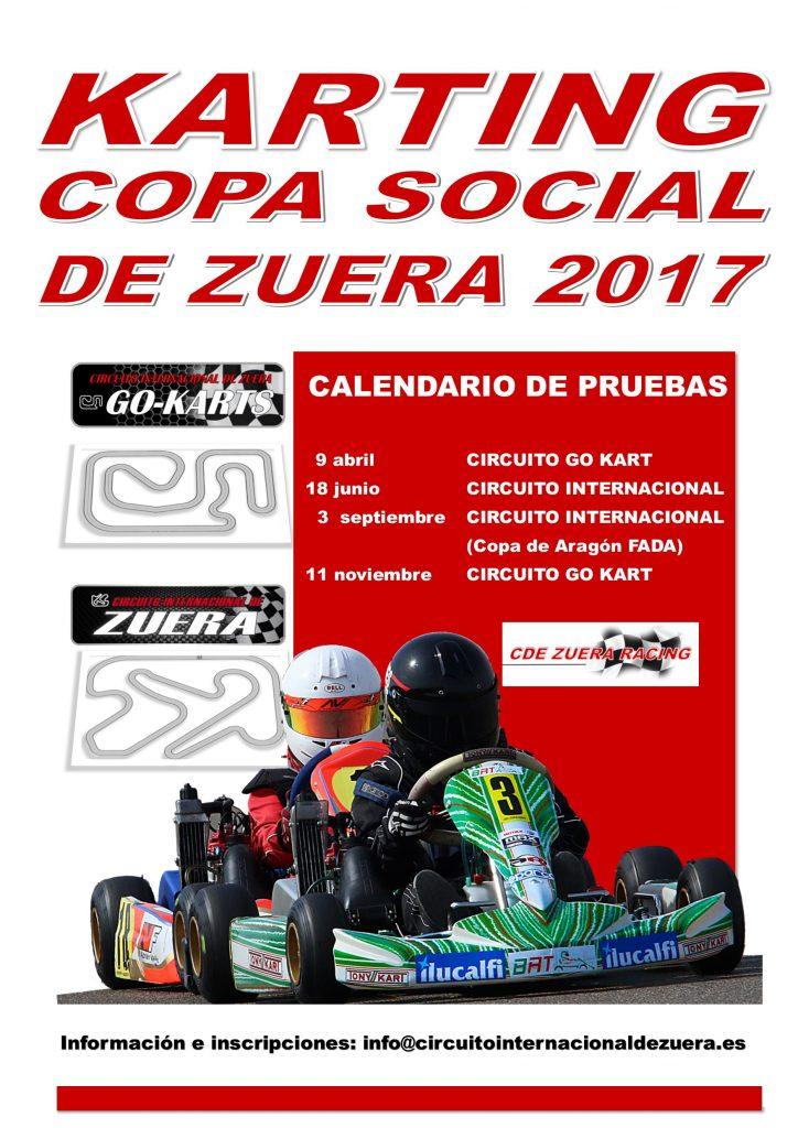 Circuito Zuera : El circuito internacional de karting zuera abre la copa