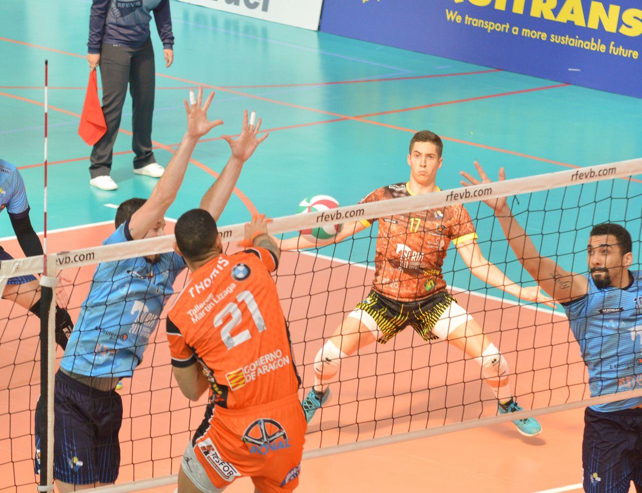 ▷ Salir de la pesadilla   Noticias Club Voleibol Teruel - SPORTARAGON.com