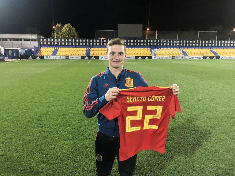 ▷ Sergio Gómez y Álvaro Fernández, protagonistas con España sub-21 - SPORTARAGON.com